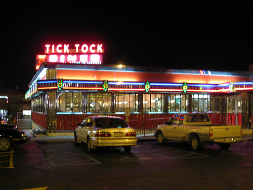 The Tick Tock Diner is one of New Jersey's most famous.