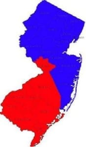 Also, Central Jersey does not exist to you.