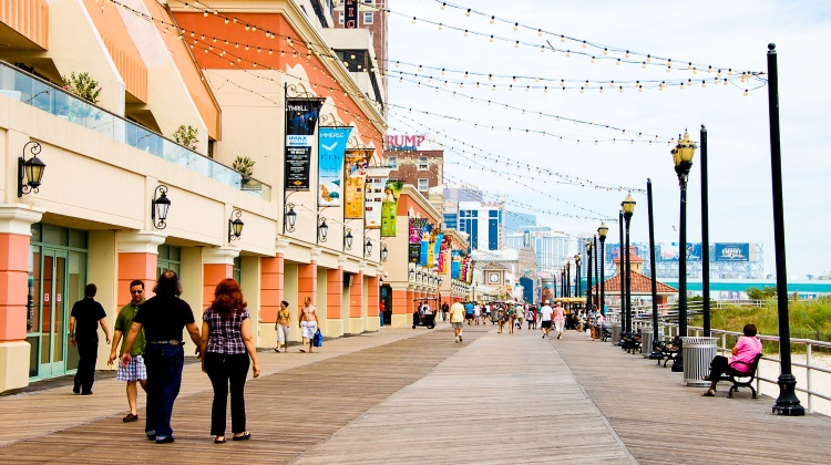 Atlantic City Boardwalk NJ