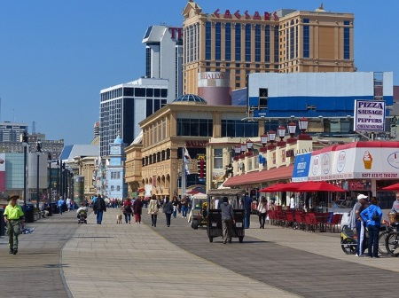 Atlantic City NJ Boardwalk 2015