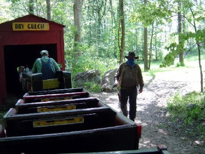 Wild West City Train Rides For Kids in New Jersey