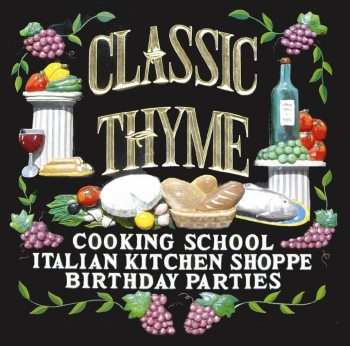 Classic Thyme Cooking School Couples Activities for TGIF in NJ