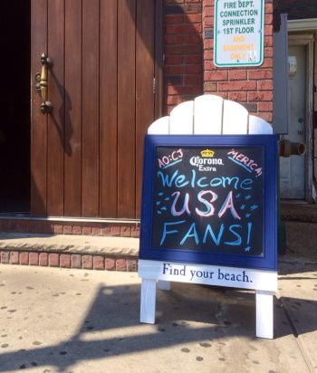 Jacks Goal Line Stand Long Branch NJ Shore Bars with Football