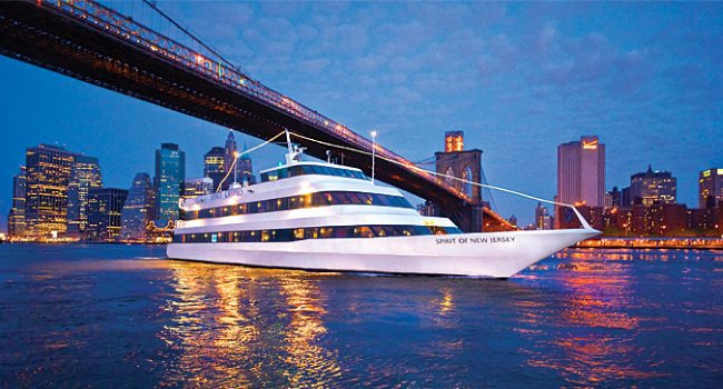 Spirit of New Jersey NYE Dinner Cruises Best New Years Parties in NJ