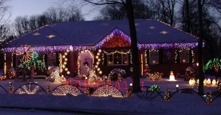 Danos Lights Holiday Light Show In Middlesex County New Jersey