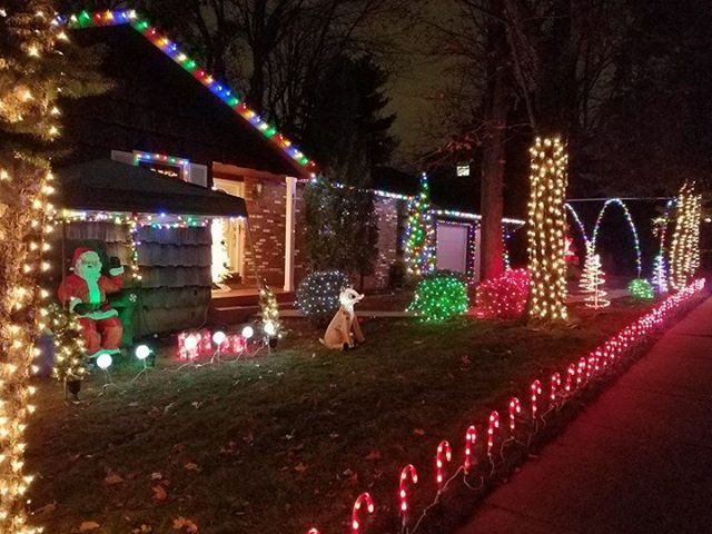 Outdoor Christmas Lights In Middlesex County NJ