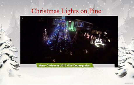 Lights On Pine Christmas Light Show iIn Middlesex County New Jersey