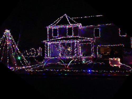 sims family light show neighborhood christmas lights in central nj - Christmas Light Show Nj