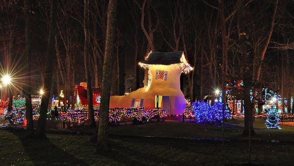 Storybook Land Christmas Fantasy With Lights Christmas Lights In NJ