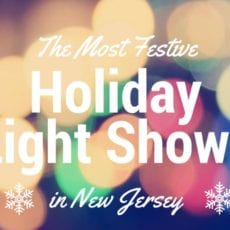 The Most Festive Christmas Lights Displays in NJ for 2017