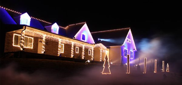 The Christmas Light Show In Wall NJ