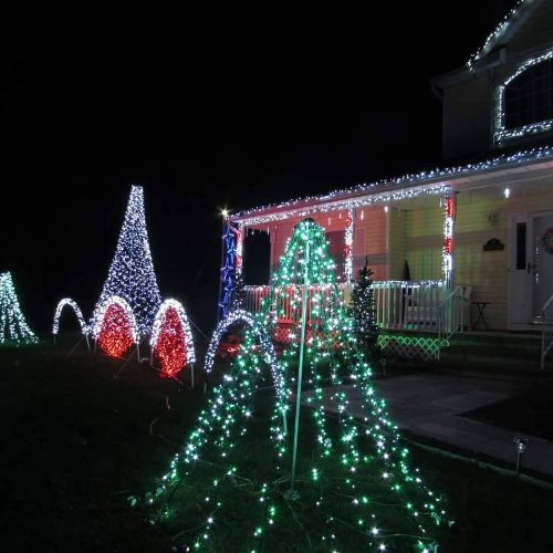 cooks christmas lights holiday light show in ocean county new jersey - Christmas Light Show Nj