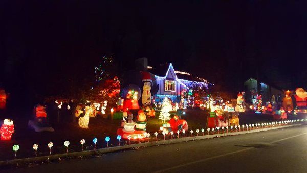 The Matorana Christmas House Holiday Light Show In NJ