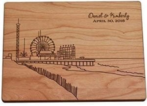 Seaside Heights cutting board nj