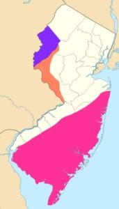 NJ Viticultural Regions