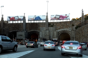 Driving from Jersey City to NYC
