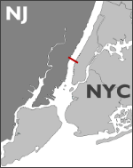 Lincoln Tunnel Map