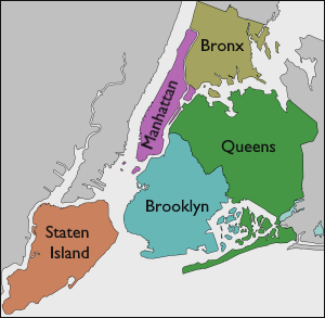 NYC Boroughs