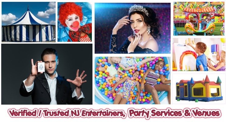 Verified Party Entertainers in NJ