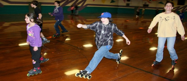 Frenchtown Roller Rink is the best way to spend the day indoors.