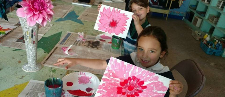 Creative Hands Art Studio is the best place for a quiet, indoor activity for all.