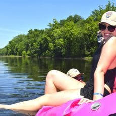 Experience Delaware River Tubing & The Famous River Hot Dog Man of NJ!