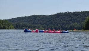 Delaware River Tubing with Kids in NJ