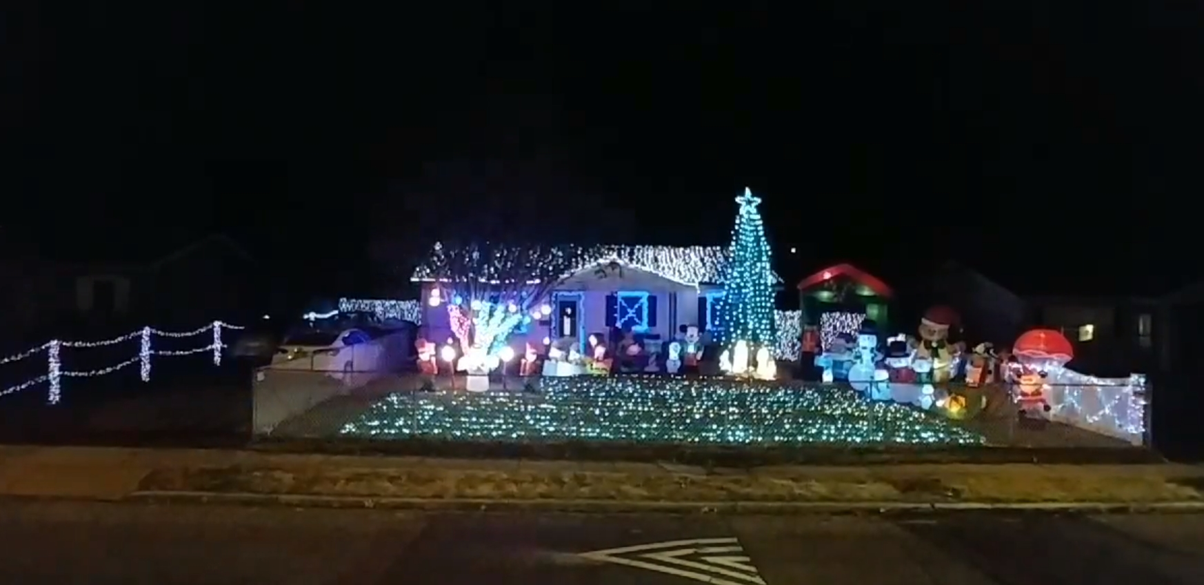 Lower Shore Light Display Holiday Light Shows In Ocean County NJ