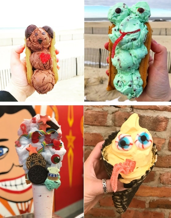 Coney Waffle Ice Cream Characters