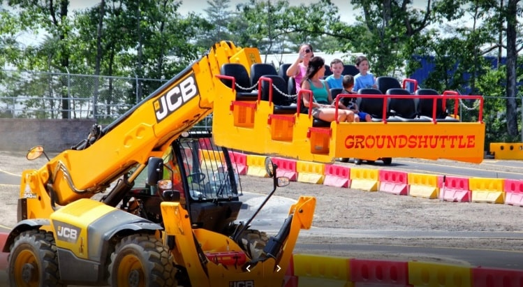 Diggerland Construction Park for Kids in New Jersey