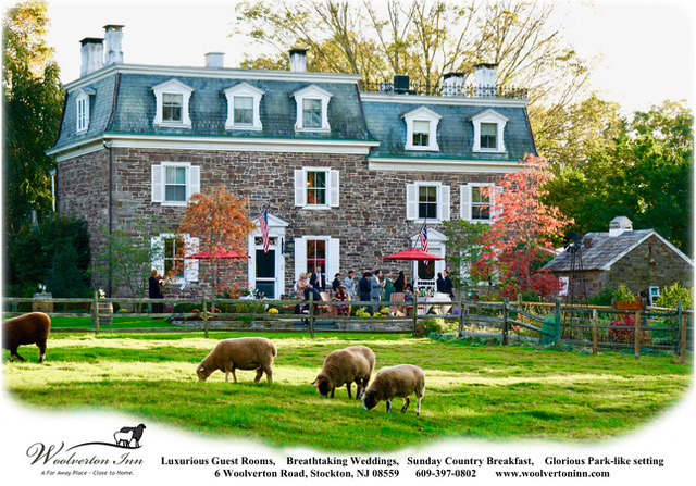 Woolverton Inn B&B – The Most Elegant Hidden Gem in NJ for a Restorative Retreat