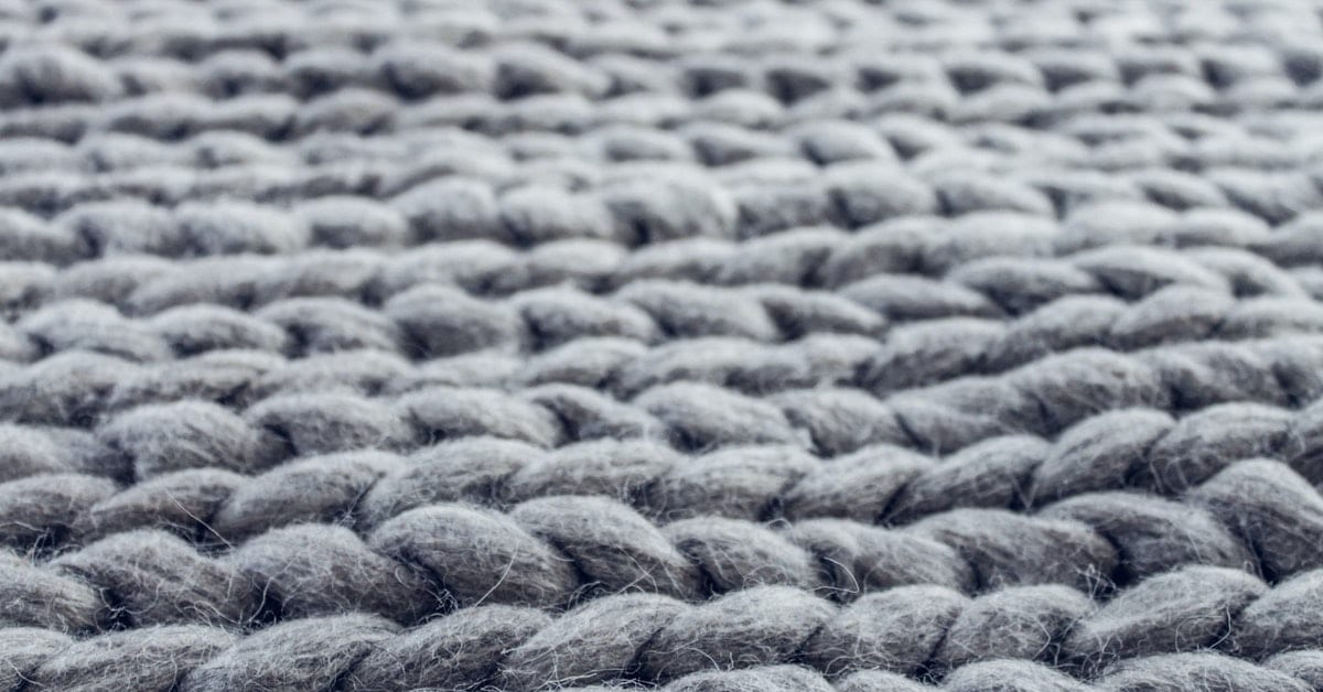 Image of wool showing the different uses for alpaca fibers