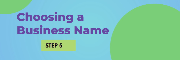 Choosing a Name for Your New Company NJ