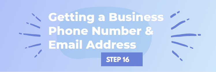 Get a Phone Number and Email Address for Your Business NJ