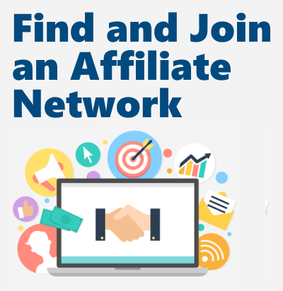 How to start affiliate marketing: Find a relative affiliate network that has offers conducive to your vertical and sign up with them.