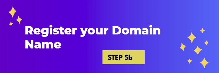 Register the Domain Name for your New Business