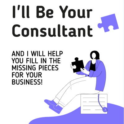 Many businesses need consultants on many different levels