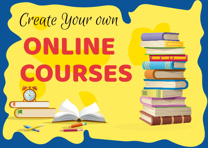 Create your own online course to make an income online