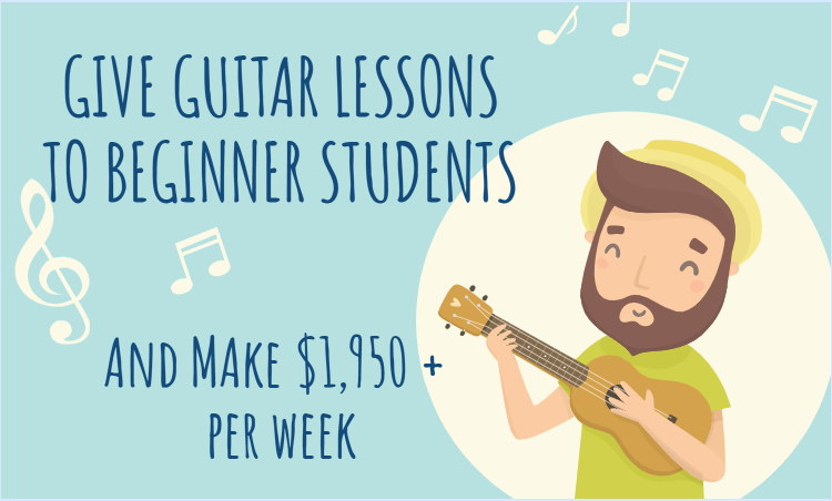 guitar lessons is a great business to start if you know how to play the guitar