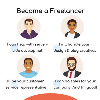 Make money from home as a freelancer