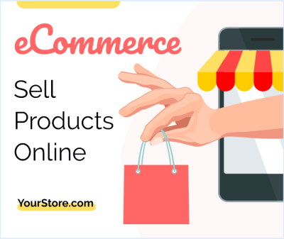Sell products online with an ecommerce store