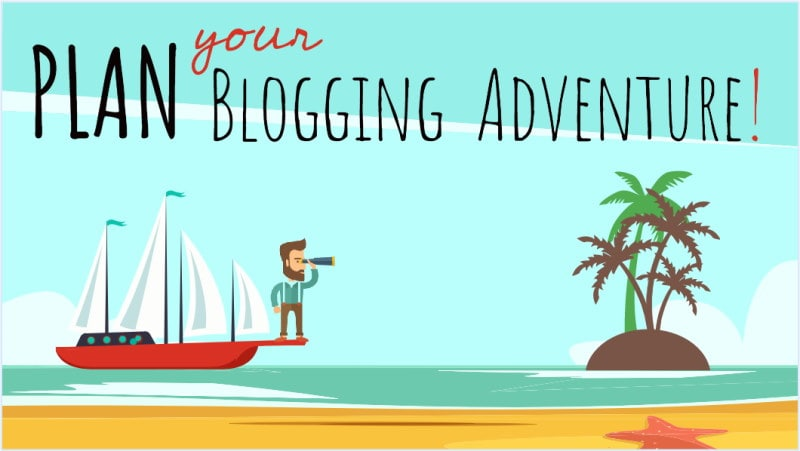 Make sure to do all of your research before you lift a finger to start blogging