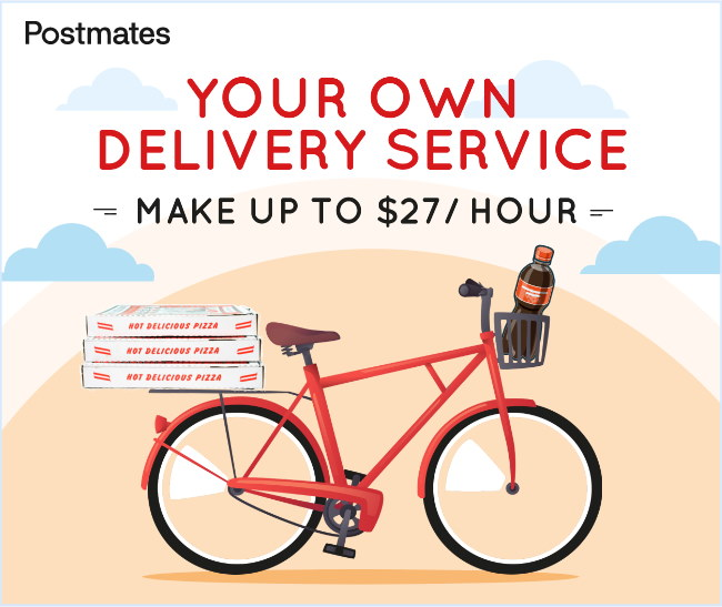 Now you can start your own delivery service without a car