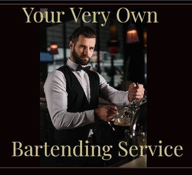 Start your very own bartending service business
